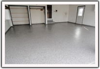 Residential Decorative Concrete - Garage