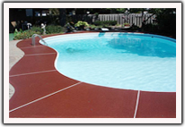 Commercial Decorative Concrete - Pools
