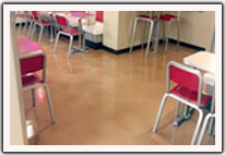 Commercial Decorative Concrete - Restaurant