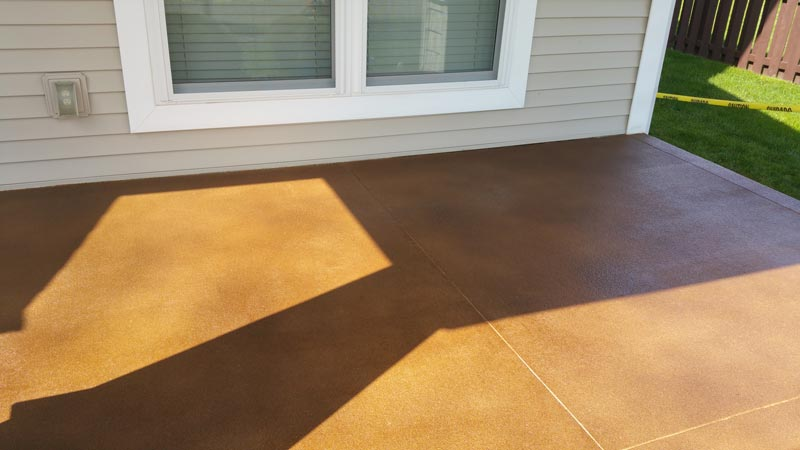Stained concrete perfect stained concrete by concrete for Perfect concrete floors