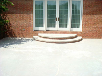 Concrete Patios and Walkways - Patio (before)