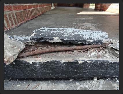 Concrete Repair - without Flexkrete