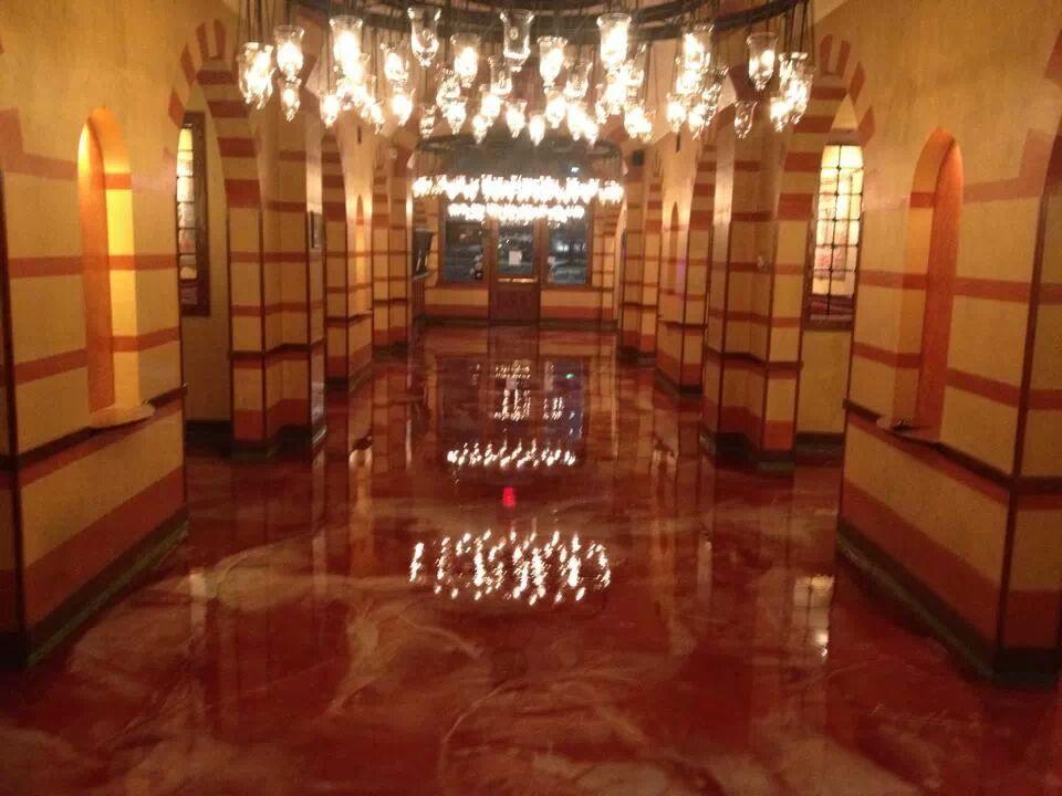 Metallic Epoxy Floor Dukes Surface Solutions Nevada