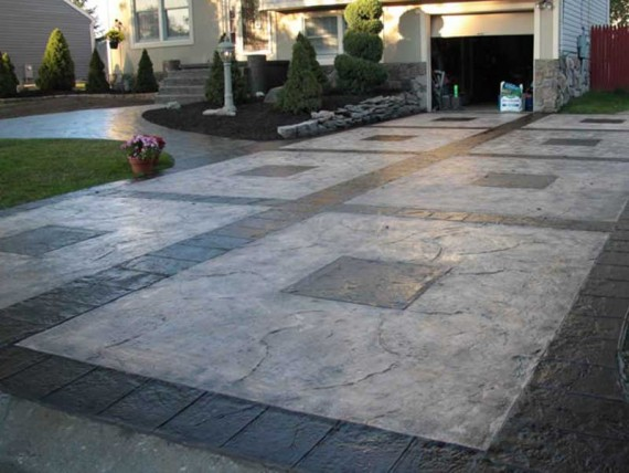 Stamped Concrete Garage : Epoxy flooring nevada dukes surface solution