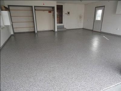 Concrete Garage Floor - Garage (after)
