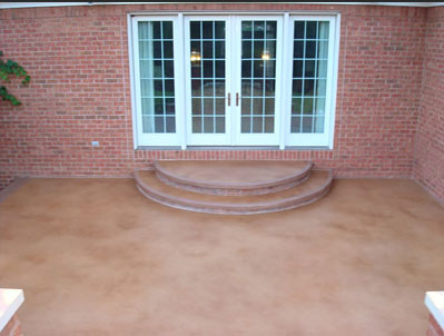 Concrete Patios and Walkways - Patio (after)