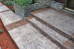 stamped concrete floors